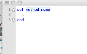 Method snippet example